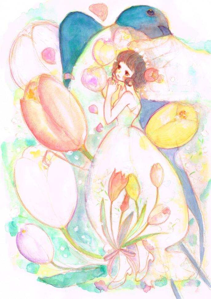 【TaNoShi 3月号ツイート企画】5人のゆび姫